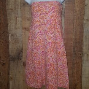 XS Lilly Pulitzer strapless dress